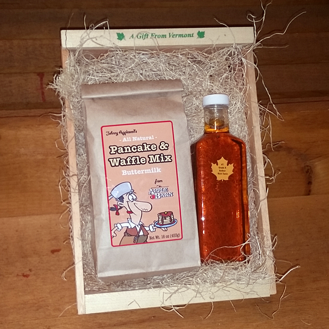 Maple Syrup and Buttermilk Pancake & Waffle Mix Package