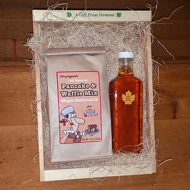 Maple Syrup and Maple Buttermilk Pancake & Waffle Mix Package